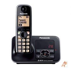 تلفن بی سیم پاناسونیک 3721 ( Panasonic KX - TG 3721 BX )