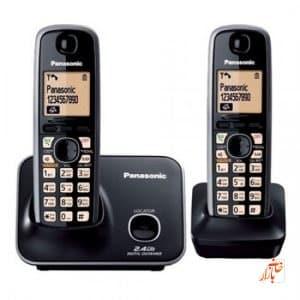 تلفن بی سیم پاناسونیک 3712 ( Panasonic KX - TG 3712 BX )